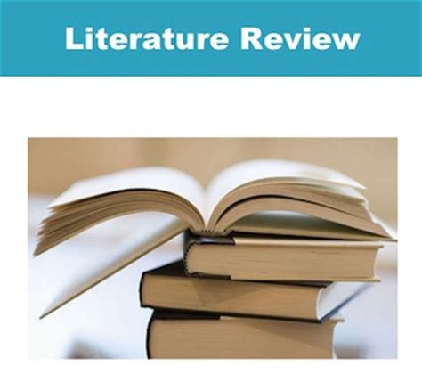 electrical engineering - How to write a literature review